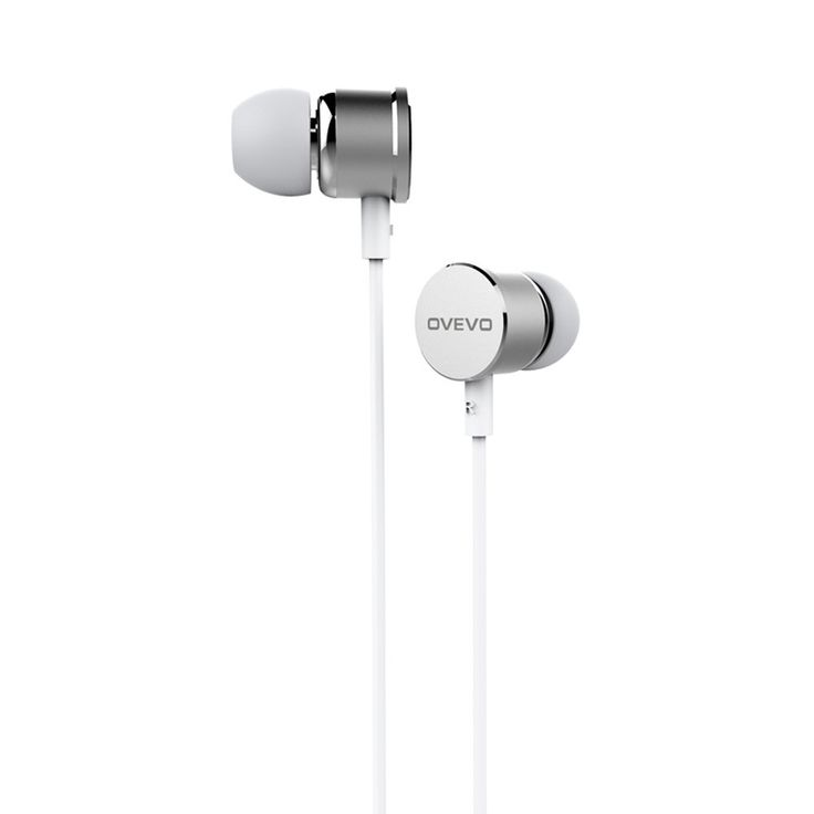 OVEVO S8 Stereo Earphone Wired In-Ear Earphone Earbuds High black - Tomtop.com