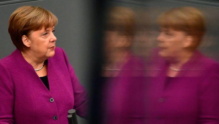 2/22/18Angela Merkel: Link EU funds to migrant integration – POLITICO  BERLIN — The distribution of EU funds should be linked to member countries' willingness to accept and integrate migrants, German Chancellor Angela Merkel said Thursday, ahead of an informal summit in Brussels where EU leaders will discuss the bloc's next long-term budget.