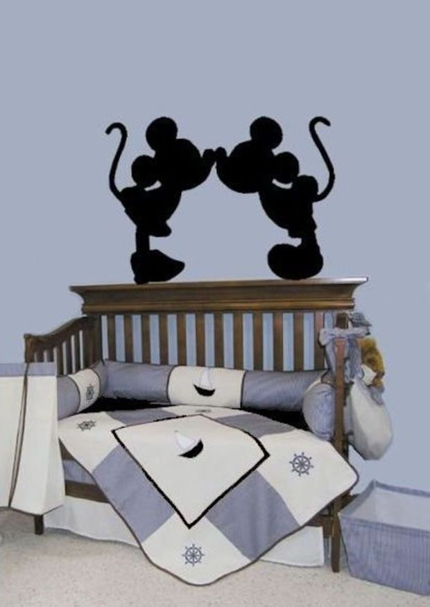 Mickey Mouse Minnie Mouse Decals Wall Art Decal Part 84