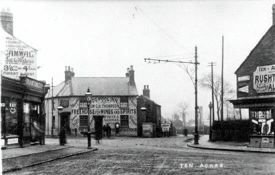 Pershore Road,Dogpool 1905