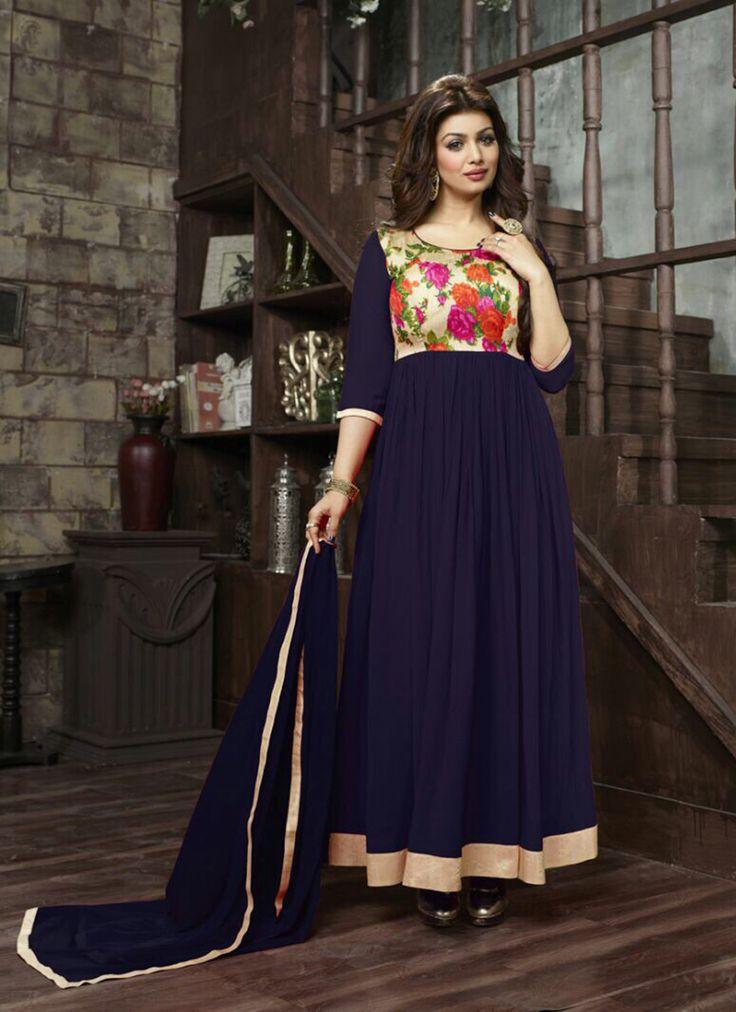 Capricious Blue Georgette Designer Anarkali In Wholesale #newyorkfashionweek #usashopping #usa #ukshopping #uk #ukshopping #anarkali #anarkalisalwarkameez #salwarkameez #beige #pakistanibride #pakistanistyle #pakistanifashion #partywear #pakistaniwedding #fashion #designer #designersuit #bengali #bengalibride #bride #bridalmakeup #uk #usashopping #qatar #doha #dubaishopping #bestoftheday