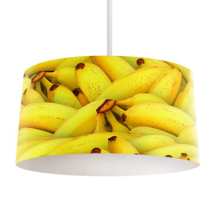 Lampenkap Bananen | Bestel lampenkappen voorzien van digitale print op hoogwaardige kunststof vandaag nog bij YouPri. Verkrijgbaar in verschillende maten en geschikt voor diverse ruimtes. Te bestellen met een eigen afbeelding of een print uit onze collectie. #lampenkap #lampenkappen #lamp #interieur #interieurdesign #woonruimte #slaapkamer #maken #pimpen #diy #modern #bekleden #design #foto #banaan #bananen #geel #fruit #gezond #lekker #eten #voedsel