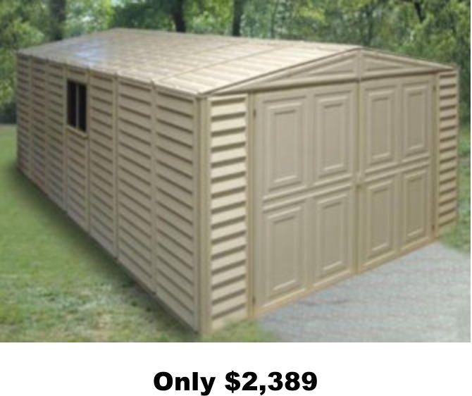 Best Prefab Garages : Best affordable garages prefab wood metal resin