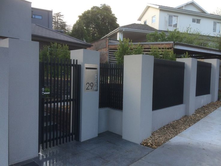 Steel Pedestrian Gate and Infills Ivanhoe