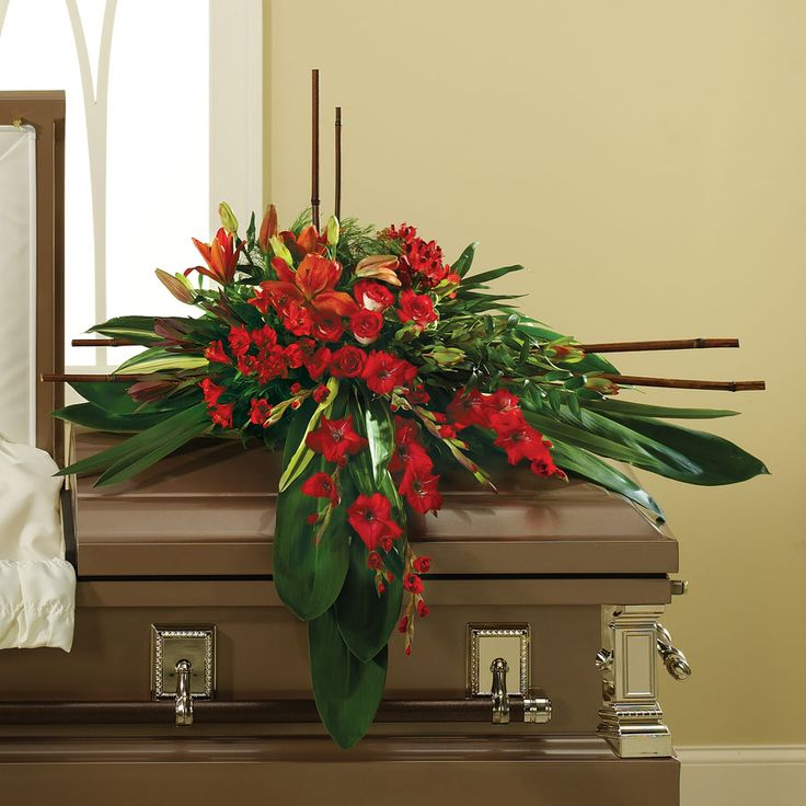 Funeral Casket Spray
