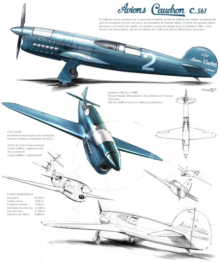 Avions Caudron (945×1125)