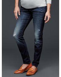 Gap Maternity Blu...     Check it out here: http://b-to-b-maternity.myshopify.com/products/gap-maternity-blue-1969-full-panel-resolution-true-skinny-jeans?utm_campaign=social_autopilot&utm_source=pin&utm_medium=pin
