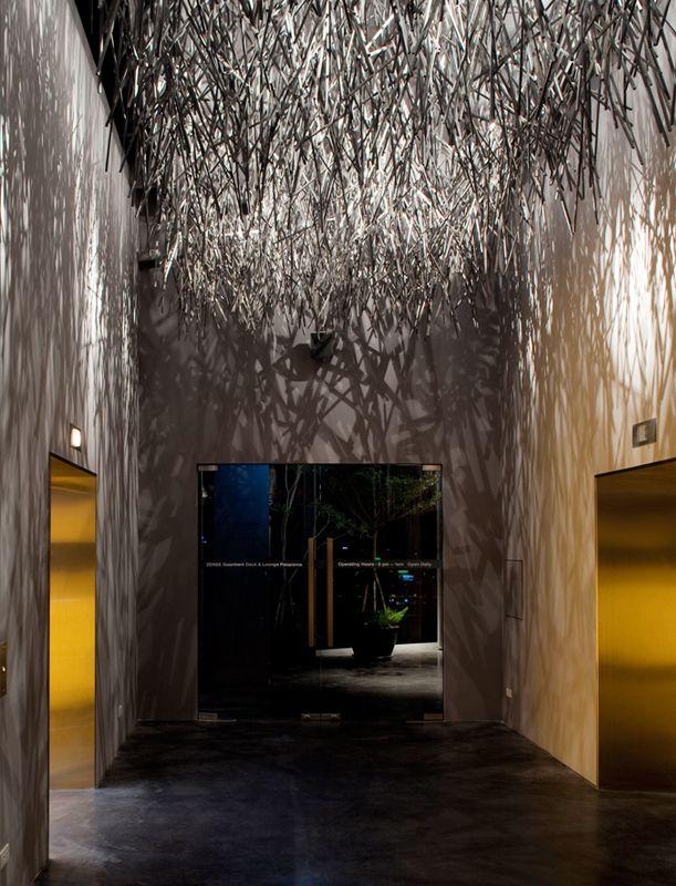Zense Restaurant, Bangkok, Thailand by Department of Architecture