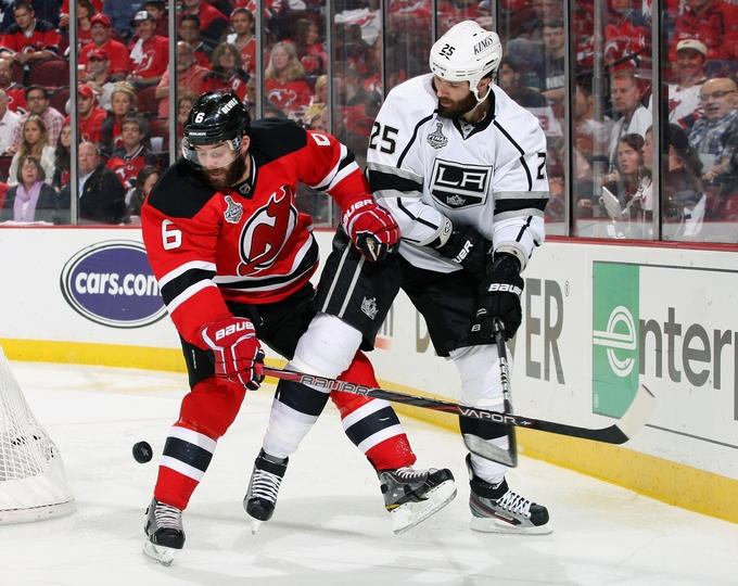 New Jersey Devils vs LA Kings Stanley Cup NEWARK 708039ba7