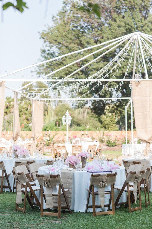 Vintage Whimsical Wedding at Fullerton Arboretum