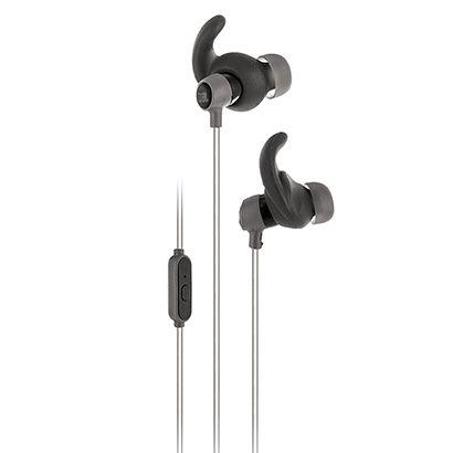 Acrescente música a sua performance com o Fone de Ouvido JBL Reflect Mini Preto, que traz ponteira esportiva para acompanhar até mesmo os treinos mais intensos. Resiste ao suor com design reflexivo.   Netshoes