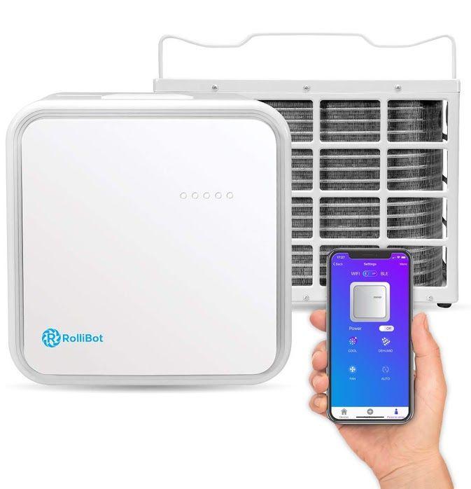 Rollicool 10 000 Btu Mini Split Quiet Ductless Air Conditioner