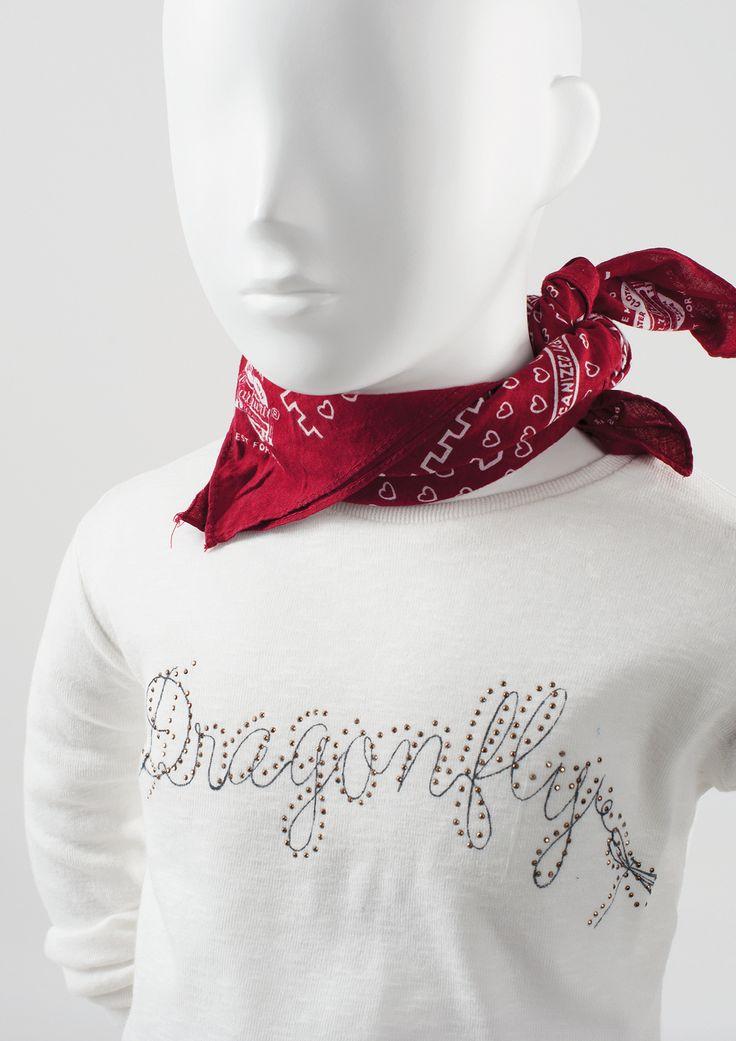 COCO KIDS - Semi-abstract children mannequins. Full of mischief and charm. #MoreMannequins #WindowDisplay #junior #scarf