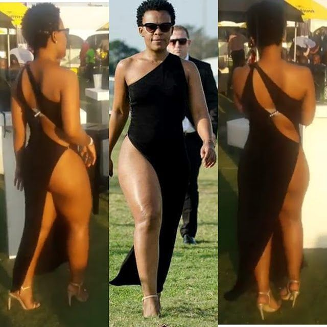 See what this South African lady wore to a polo event One word to describe her?? #news #shocking #trendingreports #apexverified #awesomeness #apexreporters