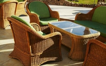 How to restore bamboo furniture rattan furniture rattan for Recover wicker furniture