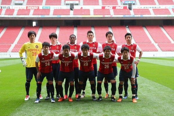 Camisa do Nagoya Grampus para J Satellite League