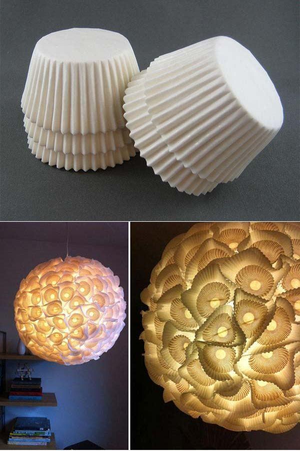 Elegant  kreative Ideen f r selbstgemachte Lampenschirme
