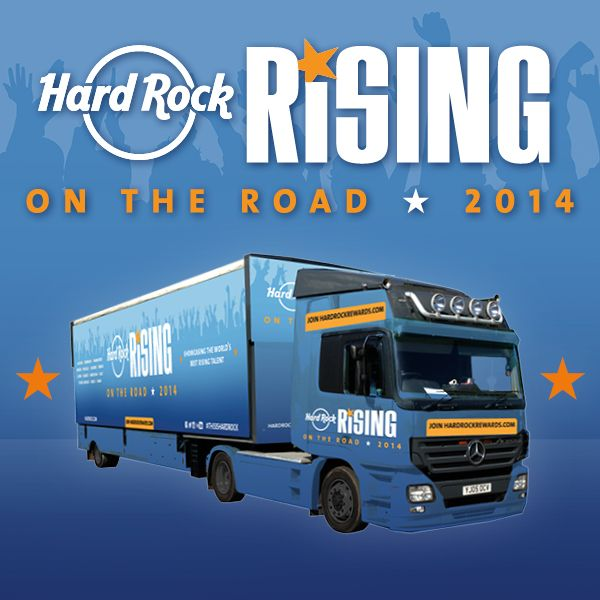 Join us on Saturday 24th May for Hard Rock Rising On The Road, our first FREE outdoor live music event! #HardRockRisingOnTheRoad #ThisIsHardRock
