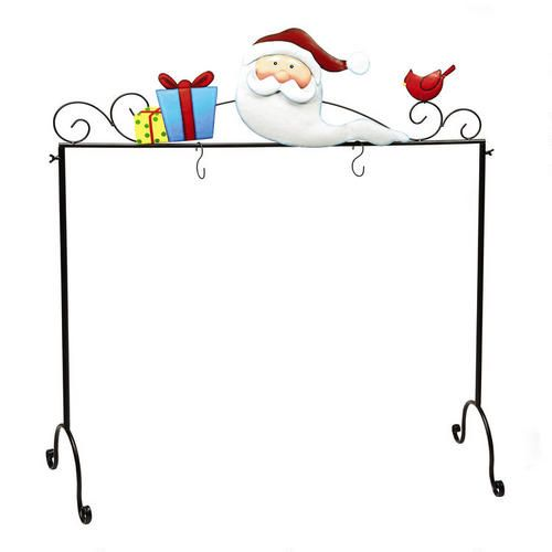 One Of My Favorite Discoveries At ChristmasTreeShops.com: Santa  Freestanding Christmas Stocking Holder