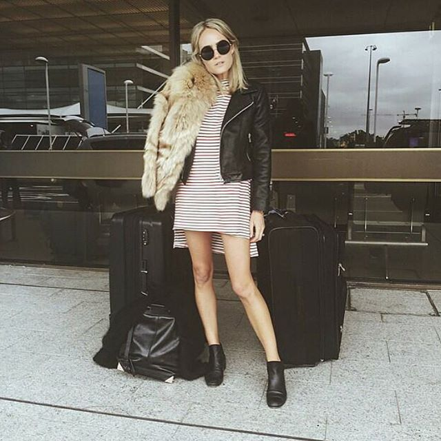 Your Number 1 Travel Buddy || @brooketestoni wearing our beau5 booties in black.  Online now || www.beaucoops.com #beaucoops