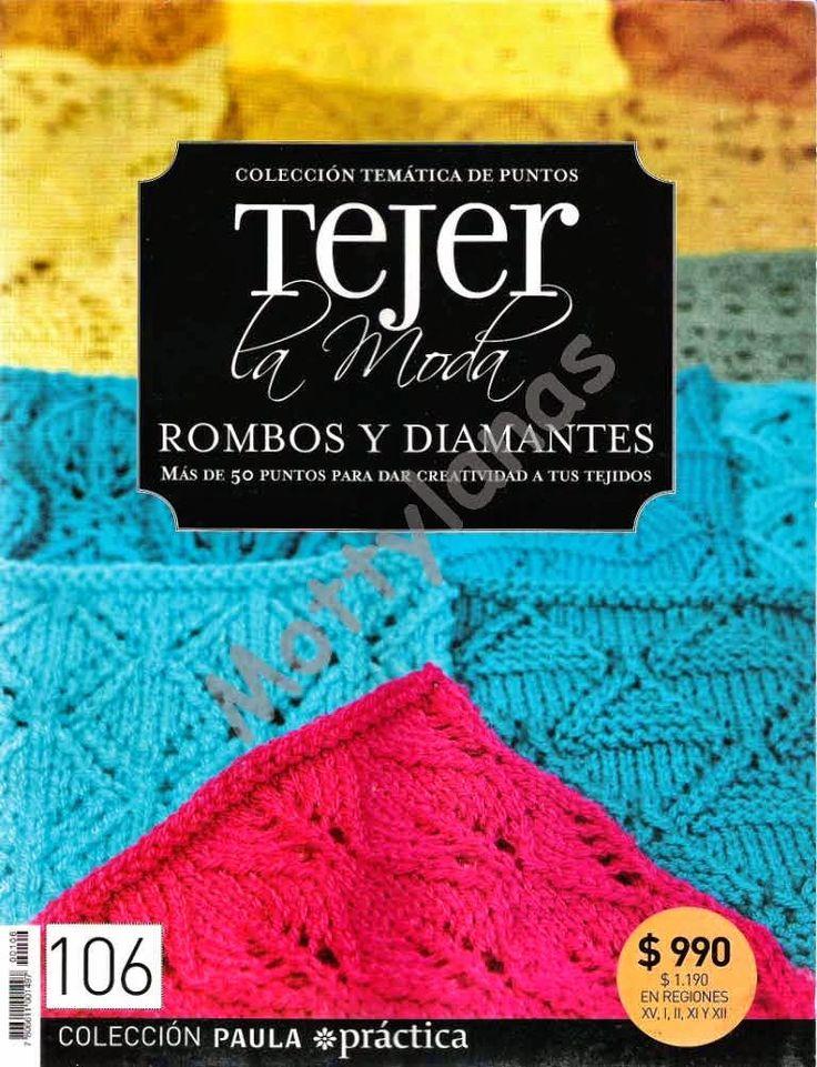 Revistas de manualidades Gratis: Revista gratis Rombos y diamantes en crochet