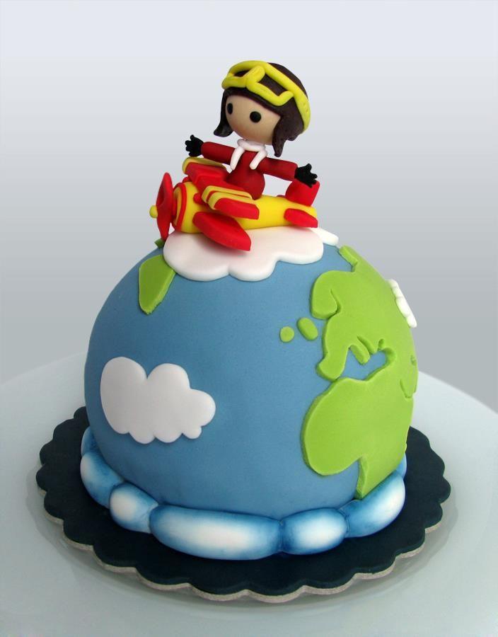 Il cerchio del Mondo di Dorina - Cake design