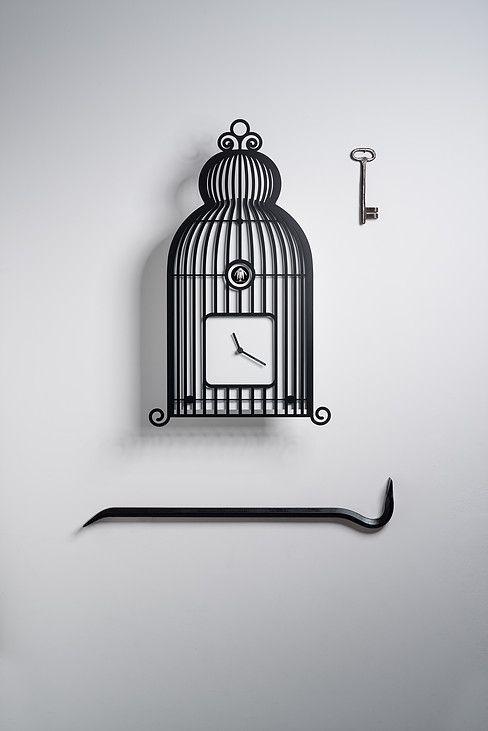 Diamantini & Domeniconi cuckoo clocks Photo: Giorgio Gori - Oak Seed Studio
