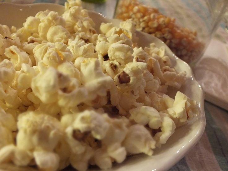 Mikrós popcorn házilag