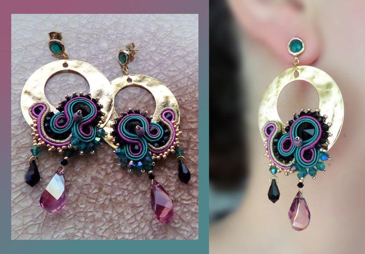 Soutache Earrings by Serena Di Mercione