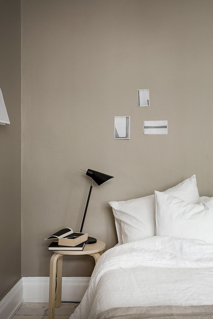Cashmere - wall colour perfection - the perfect colour for a master bedroom - Hege in France