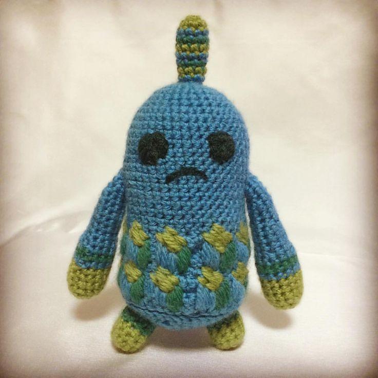 Yarn Pal! from Broken Age:) #yarn #crochet #brokenage #yarnpal