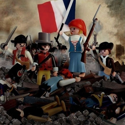Playmobil - Revolution francaise - french revolution :-) Cela aide à rendre l'apprentissage plus accessible aux élèves