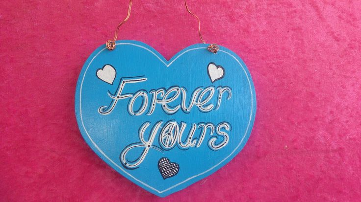 Hand painted Heart Plaque..with ..☮ of course $12 from www.etsy.com/shop/pohcreations