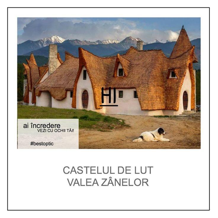 Castelul de lut din imagine pare desprins din cartea de povești a copilului tău, dar este real și se află în România. Mai exact în Porumbacu, în drum spre Sibiu. Ajuns acolo, vei fi parte dintr-o poveste, într-un colț de rai, rupt dintr-un basm. Un castel scos dintr-o poveste spusă de bunica, pe vremea când erai și tu mic! Un loc #devazut cu ochii tăi! #romania #locuridepoveste #copii #bestoptic