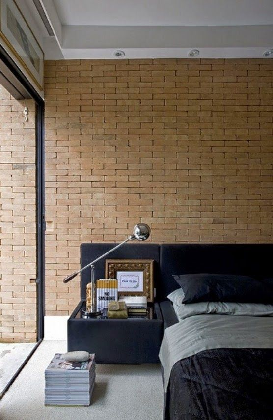 Best Bedroom Design Images On Pinterest Boy Bedroom Designs - 65 impressive bedrooms with brick walls