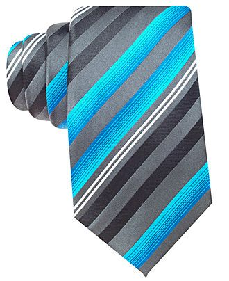 Alfani Tie, Edina Stripe - Mens Ties - Macy's