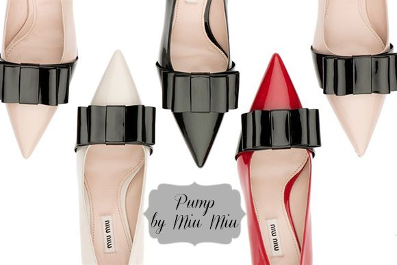 Fashion: New Pump by Miu Miu