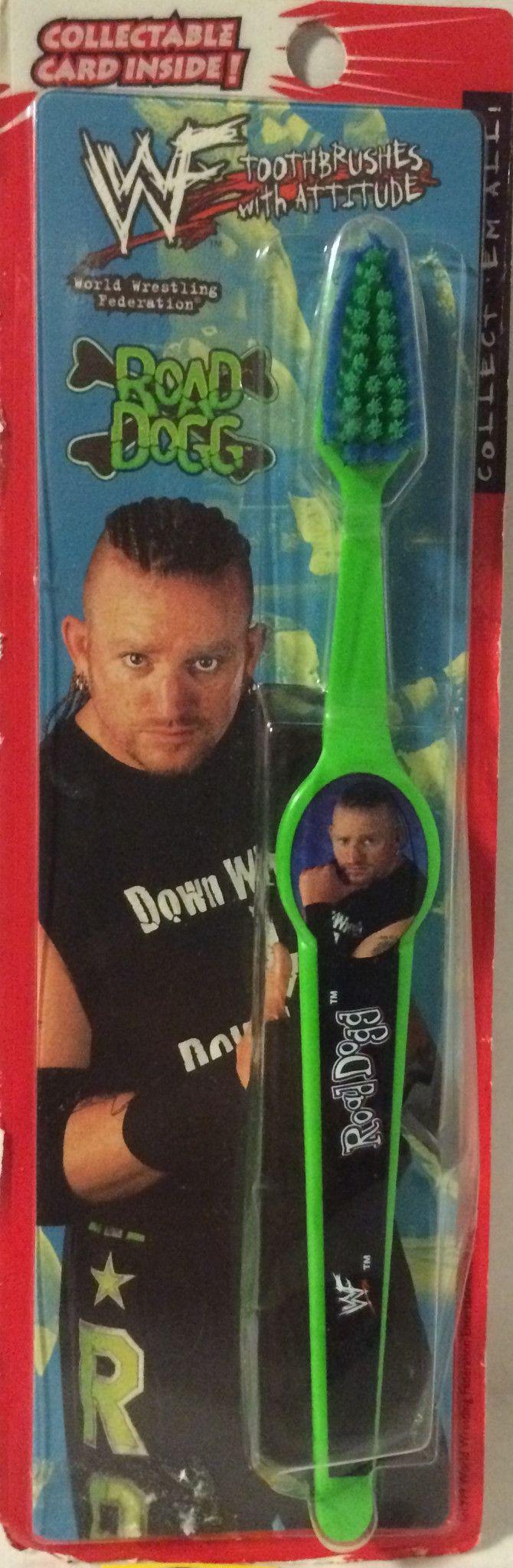(TAS004753) - 1999 WWF WWE Wrestling Toothbrush - Road Dogg (DX)