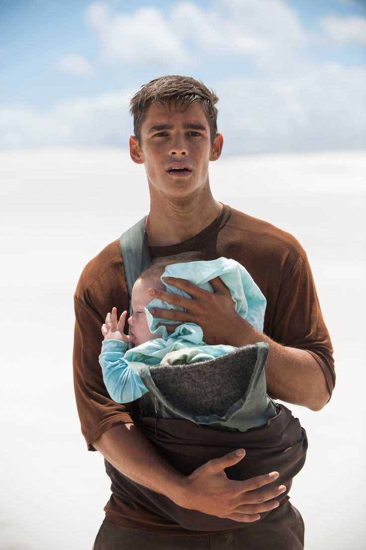 Inspiration. A half-dead young man stumbles out of the desert with a perfectly-healthy baby cradled proectively in his arms. A young woman discovers the pair and rescues them only to find that the man has amnesia and doesn't know who either he or the baby is.