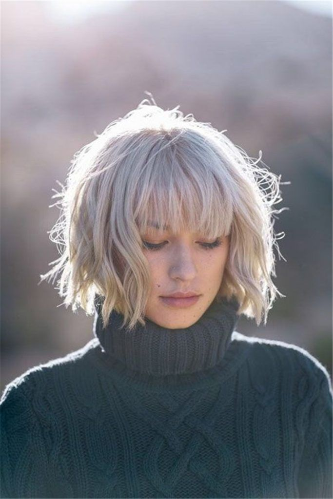 40 Charming And Gorgeous Bob Haircuts And Hairstyles With Bangs Women Fashion Lifestyle Blog Shinecoco Com Latest Bob Hairstyles Short Layered Bob Hairstyles Messy Bob Haircut