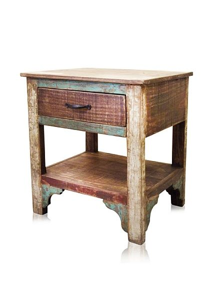 Reclaimed Wood Furniture Bombay One Drawer Nightstand at MYHABIT