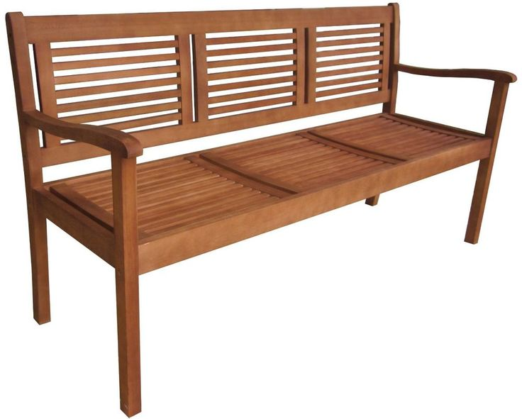 #ebay #Garden #Bench #Outdoor #Furniture #3-Seater #Patio #Hardwood #Eucalyptus