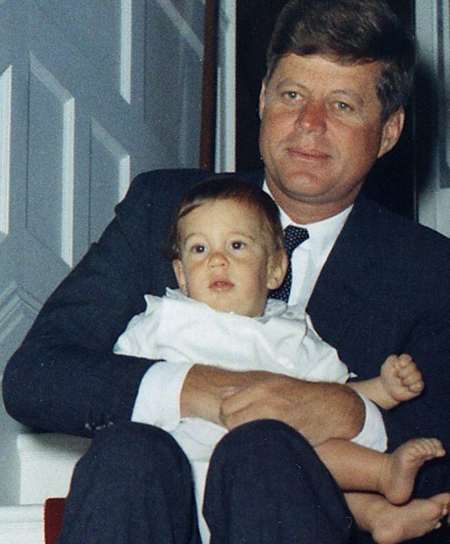 JFK and John Jr