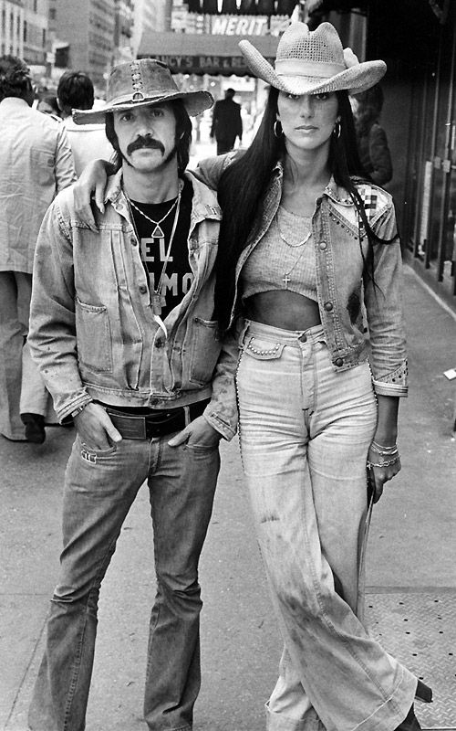 Sonny and Cher - I got you babe!