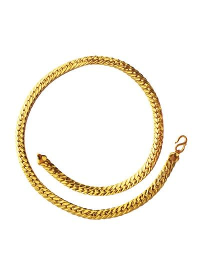 Mejores 8 imgenes de brass chain for mens gold plated jewellery gold herringbone fashion chain mens chain designsmens chain goldgold chain designs for aloadofball Gallery
