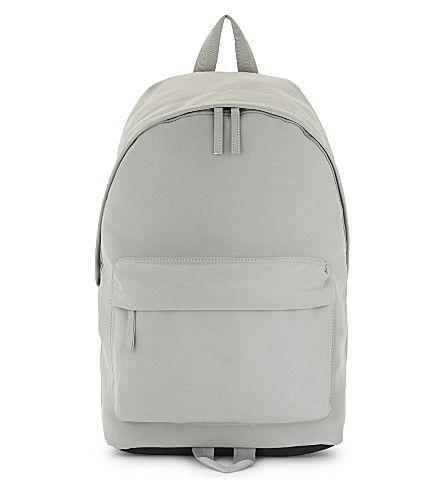 TOPMAN . #topman #bags #backpacks #suede #