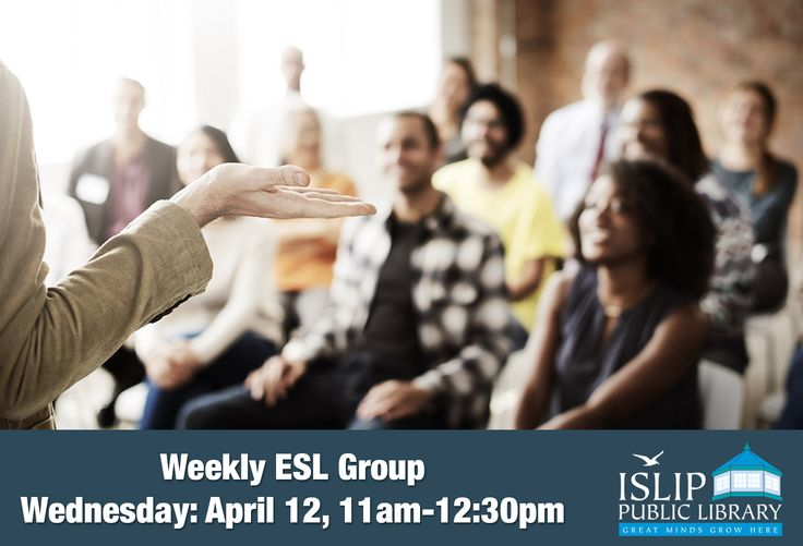 English and Spanish Conversation Group April 5, 12, 19, 26 11:00 am – 12:30 pm  Let's learn from each other and get some good conversations going! Walk-ins are welcome!