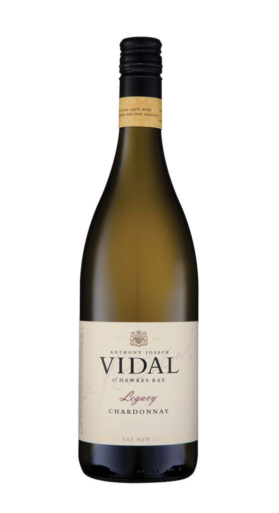 Vidal Hawke's Bay Legacy Chardonnay - a great wine to cellar.  For more inforamation on cellaring NZ wines contact us at www.winetocellar.co.nz
