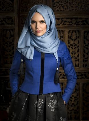 Veste Brodie - Bleu - Muslime Porter