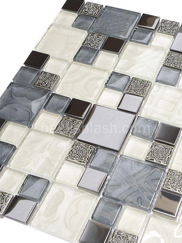 24 best Gray Kitchen Backsplash Tiles images on Pinterest   Grey ...